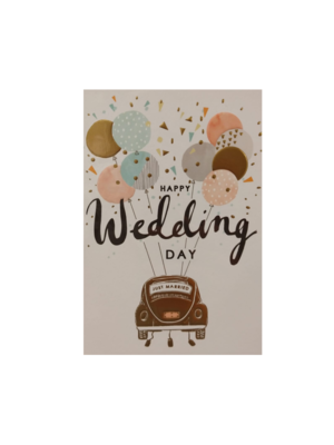 Louise Tiler Kaart - Louise Tiler - Happy wedding day - TW011