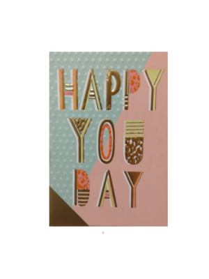 Lannoo Kaart - Louise Tiler - Happy you day - CC001