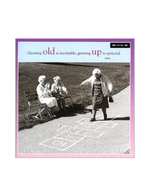 MILK Kaart - Growing old...