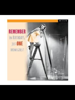 MILK Kaart - Remember on birthdays...