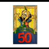 Uitnodigingskaarten - Abraham 50 jaar - 8st.