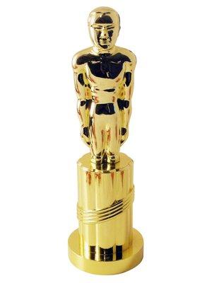 Smiffys Beeldje - Filmprijs - Goud - Plastic