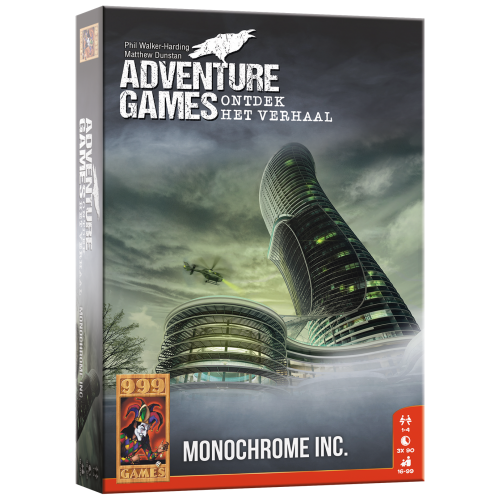 999 Games Adventure games - Monochrome Inc.