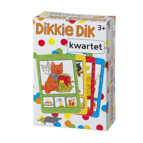 Bambolino Toys Spel - Kwartet - Dikkie Dik - 3+
