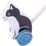 Duwstok - Poes - Kat - in Houten Speelgoed