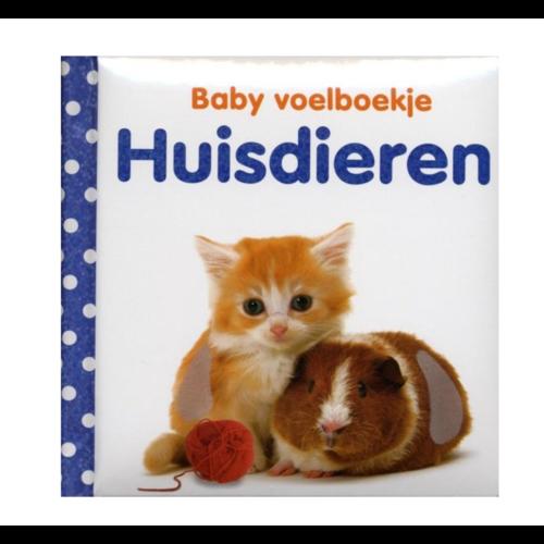 Veltman Boek - Baby voelboekje - Huisdieren