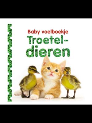 Veltman Boek - Baby voelboekje - Troeteldieren