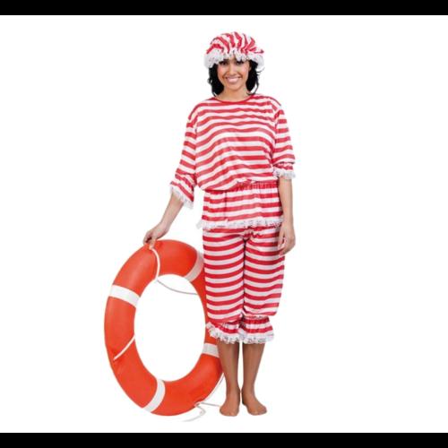 Kostuum - Badpak - Vrouw - Incl. muts - XL