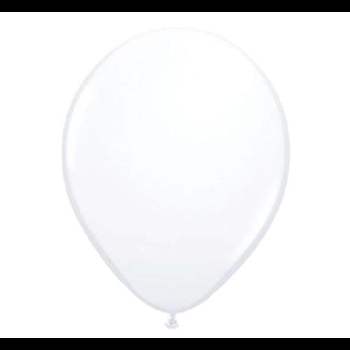 Folat Ballonnen - Wit - 30cm - 10st.
