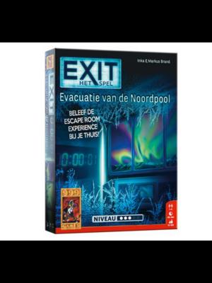 999 Games Actiespel - Exit - Escaperoom - Evacuatie van de Noordpool - 12+