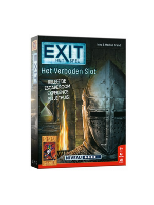 999 Games 999 Games - Actiespel - Exit - Escaperoom - Het verboden slot - 12+