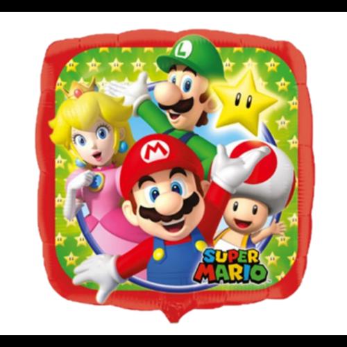 Anagram Folieballon - Super Mario - Bros - 43cm - Zonder vulling
