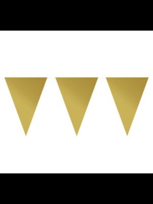 Amscan Vlaggenlijn - Goud - Mat - 10m