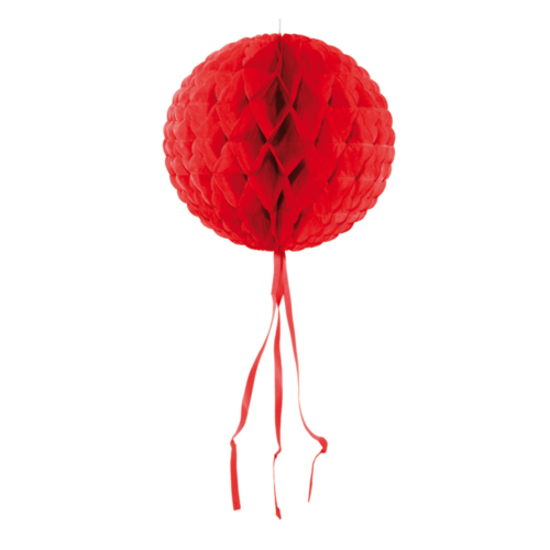 Folat Honeycomb - Rood - 30cm