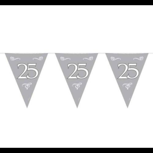 Folat Vlaggenlijn - 25 Jaar - Zilver - 10m
