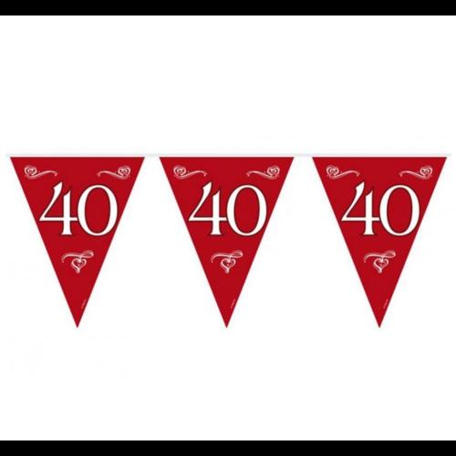 Folat Vlaggenlijn - 40 Jaar getrouwd - 10m