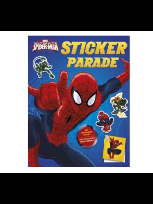 Deltas Boek - Kleur- & stickerboek - Ultimate Spiderman