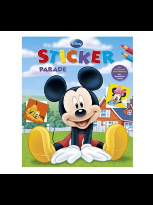 Deltas Boek - Kleur- & stickerboek - Mickey Mouse