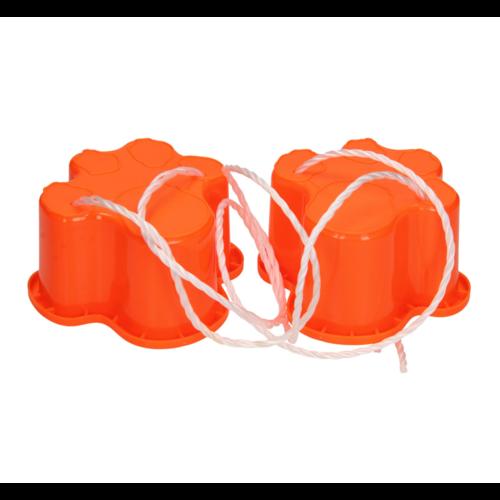 Loopklossen - Tijgerafdruk - Plastic - 1 set - Willekeurig geleverd