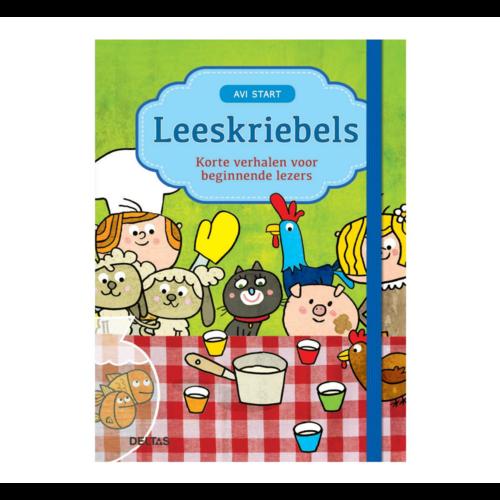 Deltas Boek - Leeskriebels - Korte verhalen voor beginners