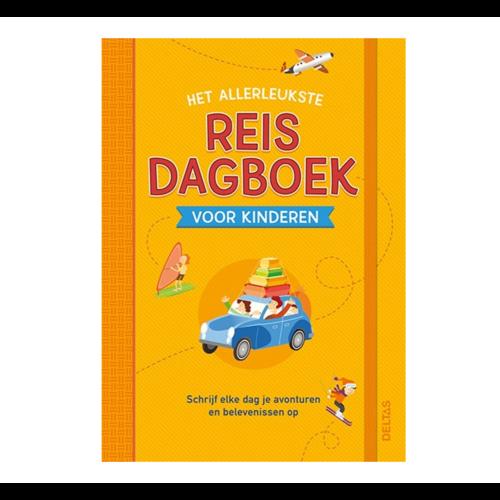Deltas Boek - Het allerleukste reisdagboek voor kinderen