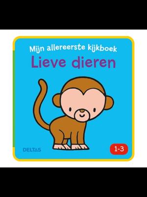 Deltas Boek - Mijn allereerste kijkboek - Lieve dieren