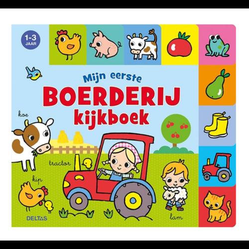 Deltas Boek - Kijkboek - Mijn eerste boerderij