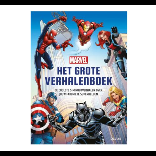 Deltas Boek - Het grote verhalenboek - Marvel