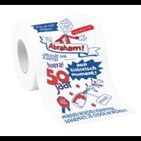 Toiletpapier - 50 Jaar - Abraham