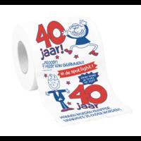 Toiletpapier - 40 Jaar - Man