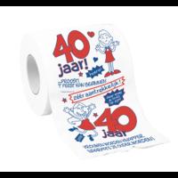 Toiletpapier - 40 Jaar - Vrouw
