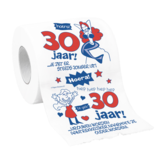 Toiletpapier - 30 Jaar - Vrouw - in Toiletpapier