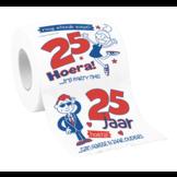 Toiletpapier - 25 Jaar - in Toiletpapier