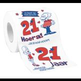 Toiletpapier - 21 Jaar - in Toiletpapier