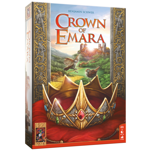 999 Games Bordspel - Crown of Emara - 12+