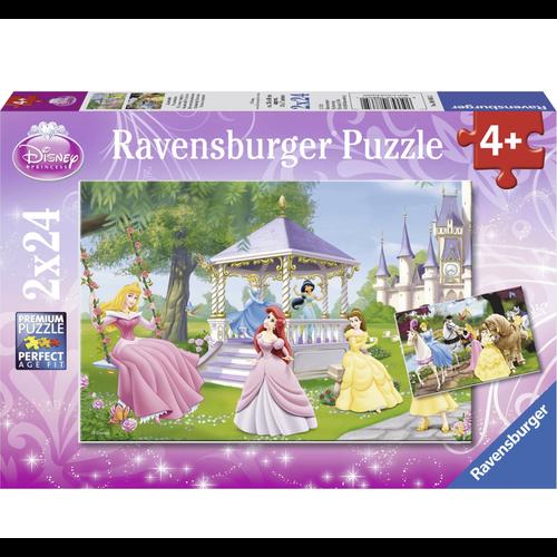 Ravensburger Puzzel - Betoverende prinsessen - 2x24st.