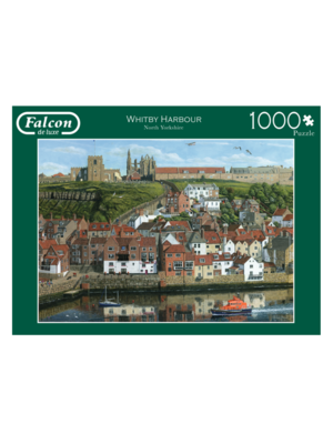 Falcon Puzzel - Haven - Whitby Harbour - 1000st.