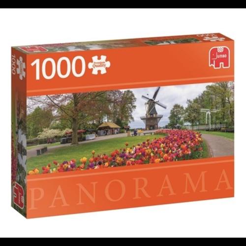 Puzzel - Panorama - De Keukenhof - 1000st.