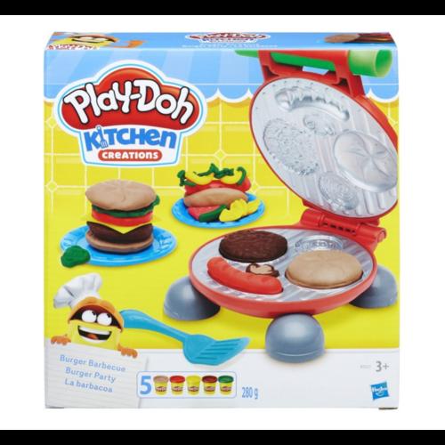 Klei - Speelset - Barbeque hamburger