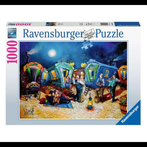 Ravensburger Puzzel - Romantische avond - 1000st.