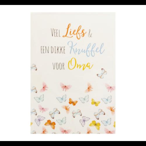 Samen sterk Kaart - Samen Sterk - 013 - Dikke knuffel voor oma - 1st.