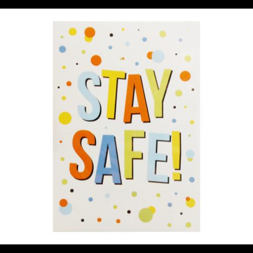 Samen sterk Kaart - Samen Sterk - 012 - Stay safe - 1st.