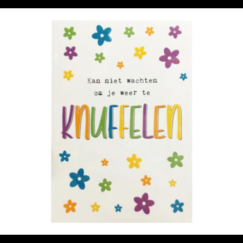 Samen sterk Kaart - Samen Sterk - 011 - Knuffelen - 1st.