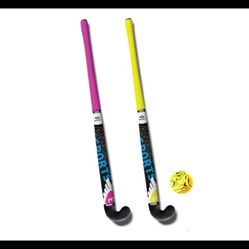 Hockeyset - 2 Sticks - 83cm - Incl. bal
