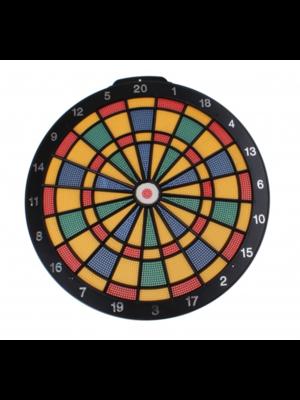 Dartboard met 6 darts - Veilig voor kinderen - 40cm