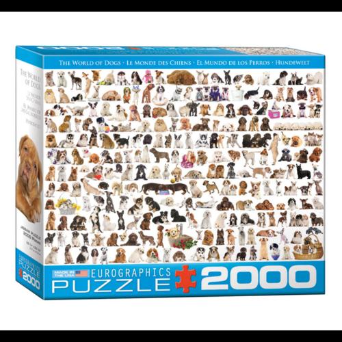 Eurographics Puzzel - Hondenwereld - 2000st.
