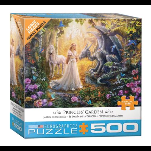 Eurographics Puzzel - Prinsessentuin - 500st.