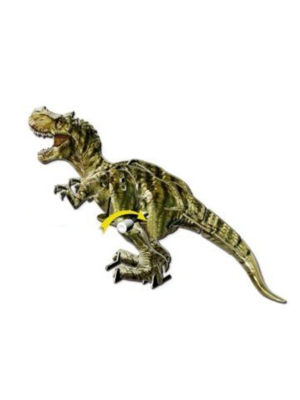 3D opwinddino - T-rex of Tricertops