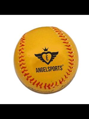 """Engelhart Angel Sports - Bal honkbal 9"""" - Geel in netje"""