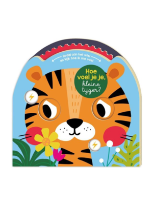 Imagebooks Boek - Hoe voel je je kleine tijger? - Draaischijfboek